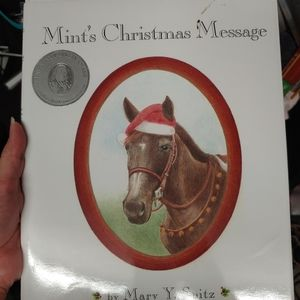 Mint's Christmas Message Children's Book